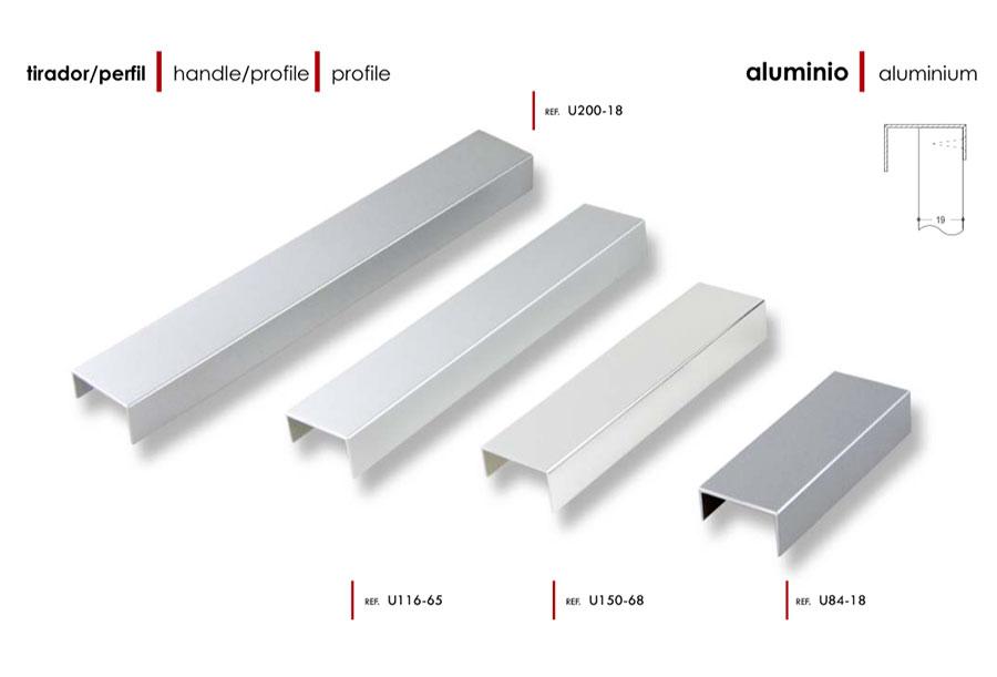Herrajes palencia - Perfiles de aluminio para muebles ...